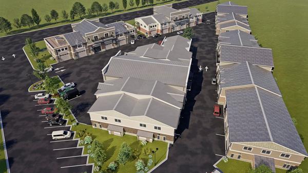 Crossroads Motor Condos Real Estate Layout
